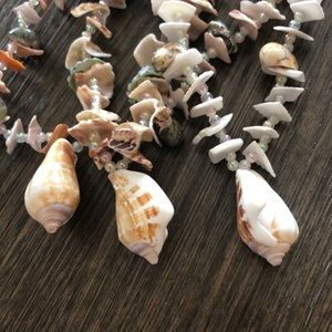 Shells necklaces 3 pieces hand made